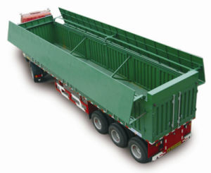 Chinese Famous Brand 3axle Coal Carring Semi-Trailer pictures & photos