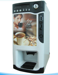 Hot & Cold Coin Operated Coffee Vending Machine pictures & photos