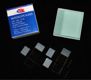 Super Clear Glass Microscope Slides 7105-72PCS pictures & photos