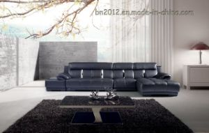 Living Room Genuine Leather Sofa (SBO-5923) pictures & photos
