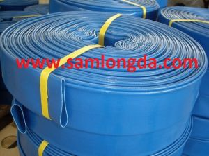 PVC Lay Flat Water Discharge Hose (SF10 SUNNY HOSE) pictures & photos