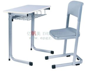 School Student Single Furniture Desk and Chair pictures & photos