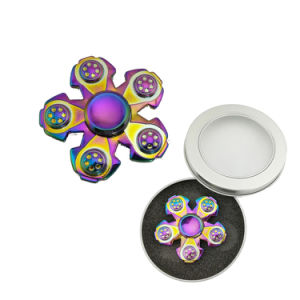 Factory Metal Fidget Spinner Rainbow Finished Hand Spinner pictures & photos