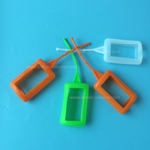 Customized Silicone Perfume Bottle Case Cover pictures & photos