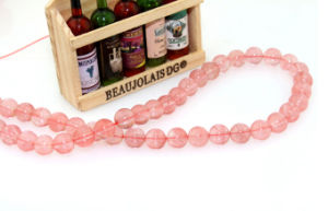 Jewelry Making Bracelet Accessories Natural Quartz Size 6 8 10 12 Watermelon Crystal Beads String pictures & photos