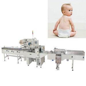 Automatic Plastic Bag Sealing Machine Baby Diaper Packing Machine pictures & photos