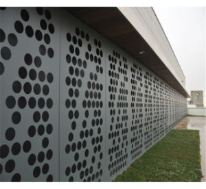 Perforated Aluminum Panel for Aluminum Wall Facade Cladding pictures & photos