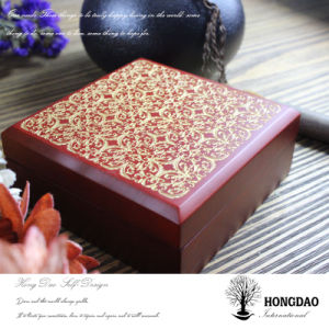 Hongdao Jewelry Box Wooden Box Necklace Box Discount_F pictures & photos