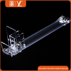 Acrylic Cigarette Display Case with Plastic Shelf Pusher