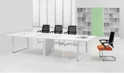 Modular White Conference Table for 10-12 Person (FOH-HD35-A) pictures & photos