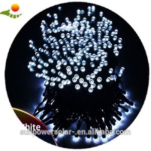 LED Solar Christmas Light with Water Drop LED Wireless Christmas Tree Lights for Sale pictures & photos