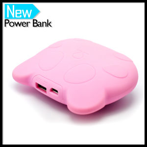 Cartoon Panda Pattern Power Bank 5200mAh Portable External USB Battery Charger Pack pictures & photos