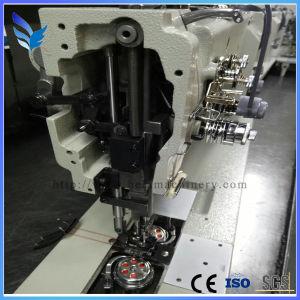 Double Needle Compound Feed Lockstitch Sewing Machine (DA767H-2/DA767H-2-7) pictures & photos