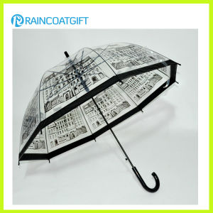 Fashion Transparent PVC Umbrella for Girl pictures & photos