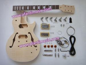 Semi-Hollow Lp DIY Electric Guitar Kit (Afanti AFGK010) pictures & photos