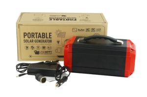 Heavy-duty 270Wh Solar Generator Portable Power Supply with off-grid system pictures & photos