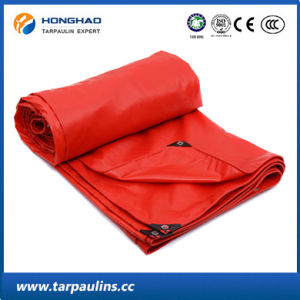 PVC Laminated Tarpaulin/Tarp with UV Treated for Cargo Cover pictures & photos