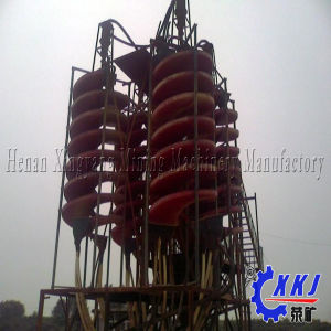 The Queen Quality Mineral Processing Spiral Chute pictures & photos