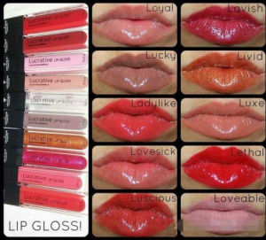 Younique Product Lucrative 10colors Long Lasting Lip Gloss Makeup Lipstick pictures & photos