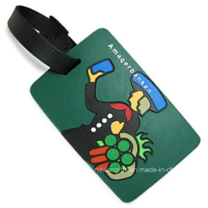 Promotion 3D Rubber Identify Tag (LT007) pictures & photos