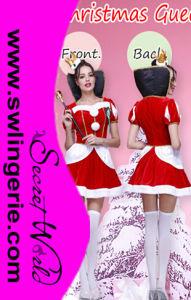 Sexy Christmas Santa Costume T1154