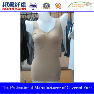 Covered Yarn with Spandex and Nylon for Seamless Product pictures & photos