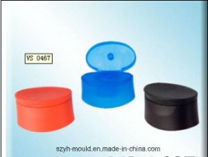 Cylindrical Flip Top Closure Mould