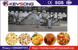Industrial Automatic Continous Belt Peanut, Snack Food Fryer pictures & photos