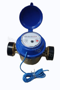 Single Jet Dry Dial Water Meter Class C Dn15-40 pictures & photos