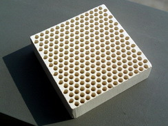 Casting Manufacture Ceramic Honeycomb Filter pictures & photos