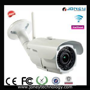 Security System Varifocal Lens 2 Megapixel Waterproof WiFi IR Bullet IP Camera pictures & photos