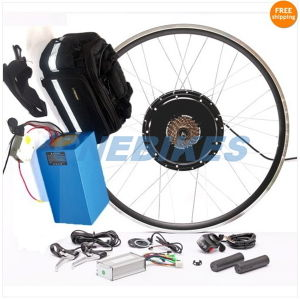 "26"" Double Aluminum Rim 48V 1000W Electric Bike Kit with Battery 48V 20ah pictures & photos"