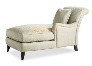 (CL-6626L) Classic Villa Hotel Room Furniture Fabric Leisure Sleeping Lounge pictures & photos
