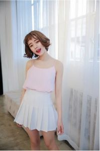 Women Fashion Clothing Promotional Summer Sleeveless Polyester Tank Top pictures & photos