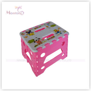 Portable Cartoon Plastic Stool Baby Seat pictures & photos