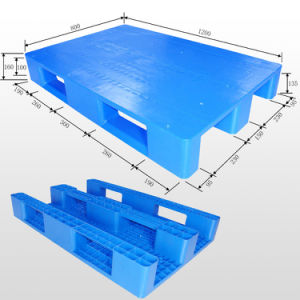 Environmentally Friendly Plastic Pallet with Steel Tubes Reinforced From China pictures & photos