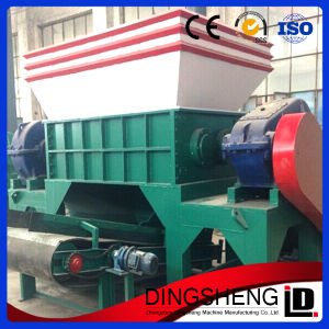 Hot Selling Twin Shaft Shredder Machine for Waste Plastic pictures & photos