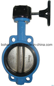Ohsas Approved Worm Gear Butterfly Valve