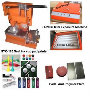 Manual Seal Ink Cup Pad Printer (SYC-120)