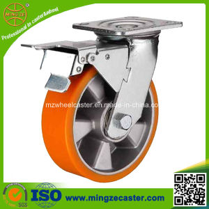 Total Brake Heavy Duty Trolley 8 Caster Wheels pictures & photos