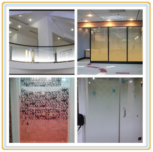 Hot Sale Gradient Change Laminated Glass Manufacturer pictures & photos