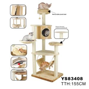 Natural Cat Tree, Large Cat Tree (YS83408) pictures & photos