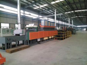 Gas Heating Mesh Belt Treatment Furnace pictures & photos