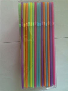 Colorful Flexible Plastic Drinking Straw, Party Supply Straw pictures & photos