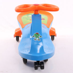 Wiggle Car Manufacturer Wholesale Blue Color Kids Wiggle Car pictures & photos