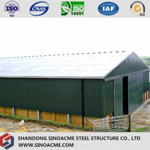 Steel Portal Frame Building for Cowshed pictures & photos