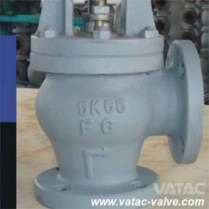 Ductile Iron/Cast Iron/D. I/C. I Angle Marine Globe Valve From Wenzhou pictures & photos