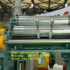 High Technology Xk Series Open Type Rubber Mixing Mill with Stockblender Xk-550 pictures & photos