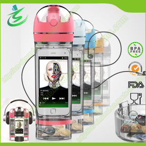 2015 New Arrival Tritan Water Bottle with Storage, BPA Free pictures & photos
