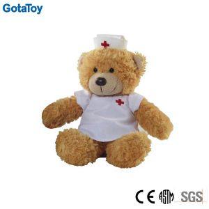 Custom Stuffed Toy Plush Nurse Teddy Bear in Uniform Soft Toy pictures & photos
